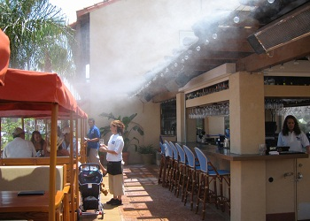 Giới thiệu chung về hệ thống phun sương quán bia