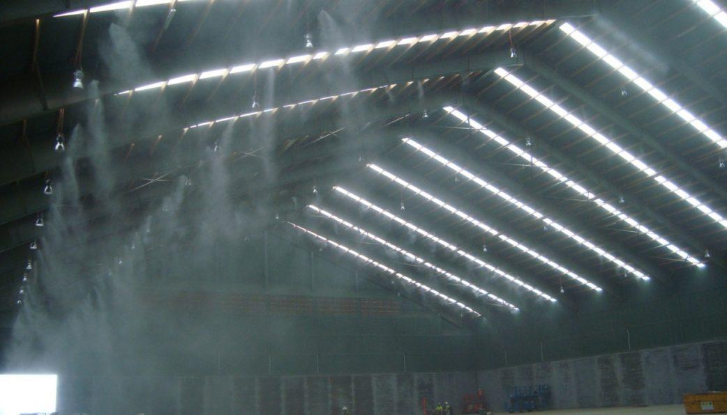 Hệ thống phun sương làm mát nhà xưởng