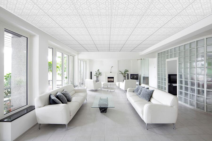 Chống nóng cho mái nhà bằng trần thạch cao