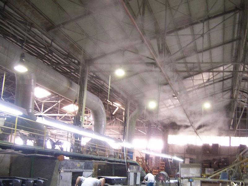 Những điểm cần lưu ý khi lắp đặt hệ thống phun sương nhà xưởng