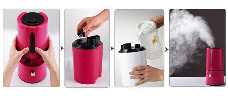Lưu ý khi vệ sinh thiết bị máy phun sương tạo ẩm
