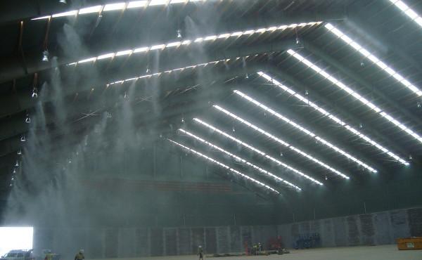 Ưu điểm của hệ thống phun sương công nghiệp