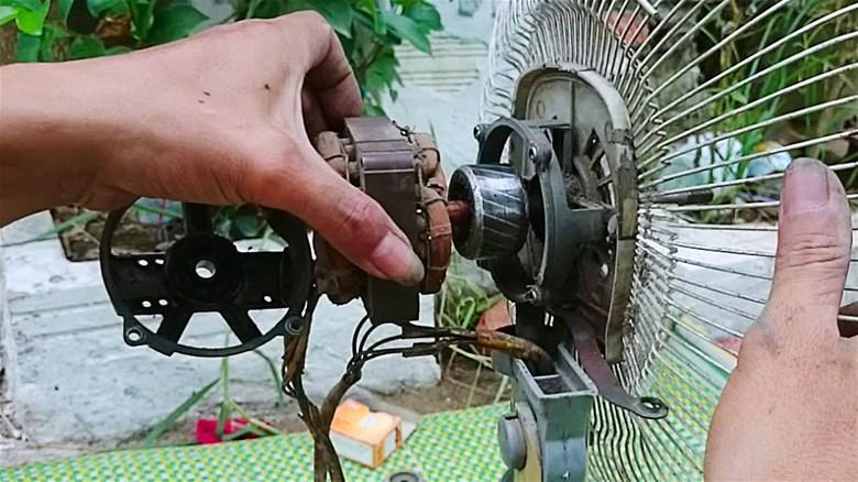 Cách sửa quạt điện bị sát cốt