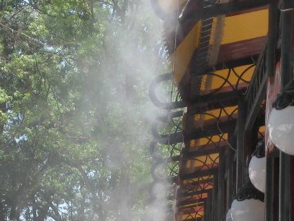 Những lưu ý khi lắp đặt hệ thống phun sương làm mát quán bia