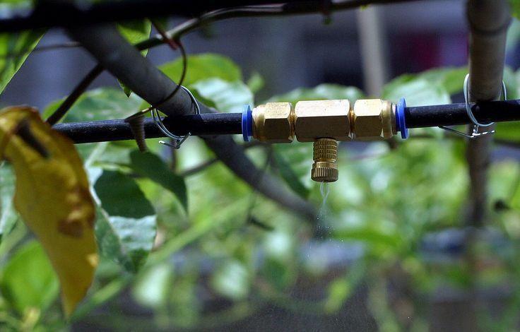 Hướng dẫn gắn béc phun vào nối